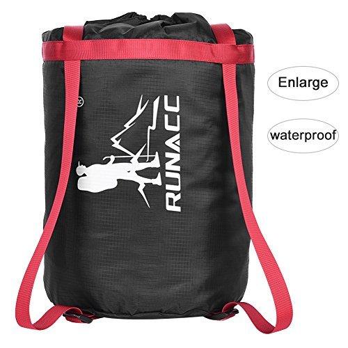 Uarter Waterproof Compression Sack Sleeping Bag Pack Storage Bags for Camping Black ()