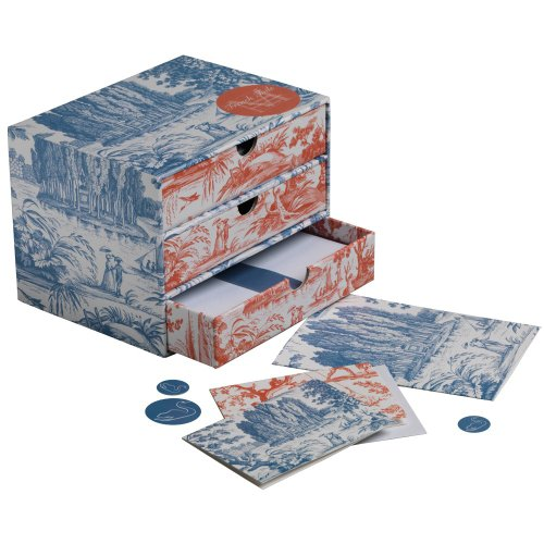 Museum File (Metropolitan Museum of Art Stationery Box, French Toile)