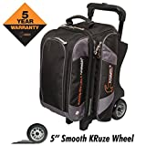 Hammer Premium Double Roller Bowling Bag, Black/Carbon