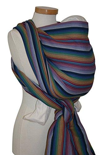 Storchenwiege Woven Cotton Baby Carrier Wrap (4.6, Inka)