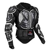 MagiDeal Chaqueta Protector de Cuerpo Entero Confortable Carreras Motocross Motocicleta Ciclismo Esquí Deporte