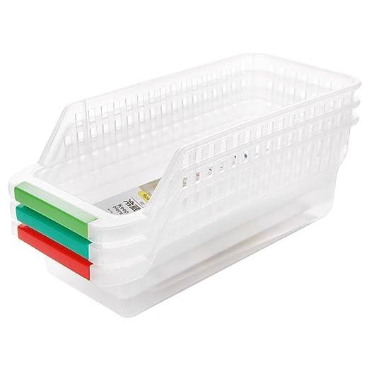 wjkuku Frigorífico y Congelador Memoria Organizador Bins para ...
