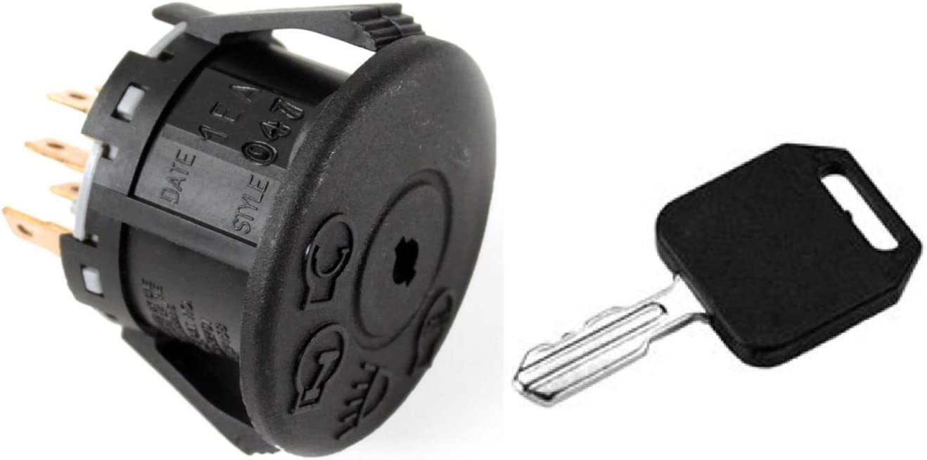 Ignition Switch Key Husqvarna John Deere Craftsman Jonsered MTD Cub Cadet 140401