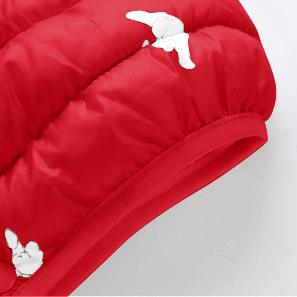 BFYOU Kids Baby Girl Boy Winter Cartoon Coat Cloak Jacket Thick Warm Outerwear Clothes Pink