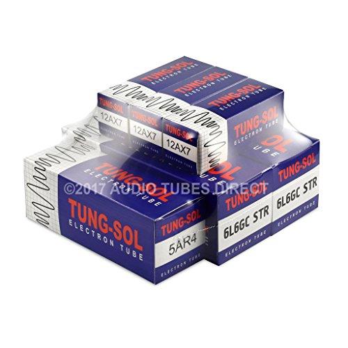 Tung-Sol Tube Upgrade Kit For Fender 59 Bassman Reissue & 59 Bassman Ltd Amps 6L6GCSTR 12AX7 5AR4