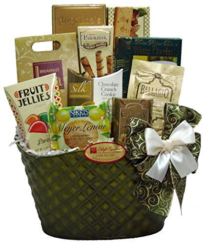 Delight Expressions® Thinking of You Gourmet Food Gift Basket (Small) - A Mother's Day Gift Idea