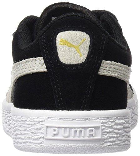white Basses Straps 2 Noir PS Black Sneakers Suede Puma Mixte Enfant Uag47xg