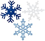 Large Felt Snowflake 24/Pkg-Winter