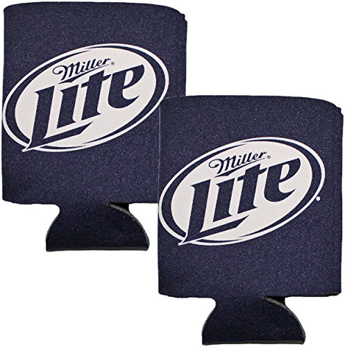 - Miller-Lite Blue Eco Coolie Koozie Can Coolers (Made From Recycled Materials)