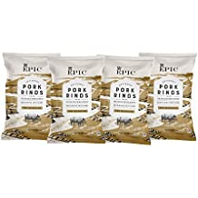 Epic Artisanal Pork Rinds, BBQ, 2.5 ounce, 4 Count