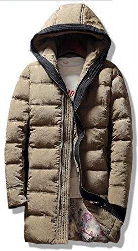 Down Coat 1 Windproof Thick Hot UK Hooded Down Duck Jacket Warm Long Sale Men's pH4HPvn