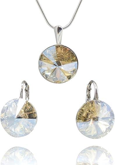 Crystals & Stones *RIVOLI* *Moonlight* Schmuckset Ohrringe