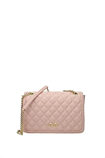 a43ee136c45e Amazon.com  LOVE Moschino Women s Quilted Crossbody Chain Strap Pink One  Size  Shoes