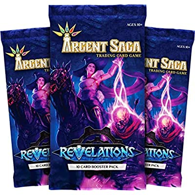 3 Packs of Argent Saga Set 2 Revelations 10 Card Booster Pack - 30 Cards Total!: Toys & Games
