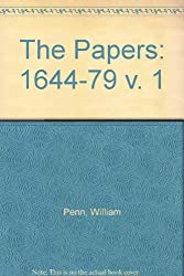 The Papers: 1644-79 v. 1