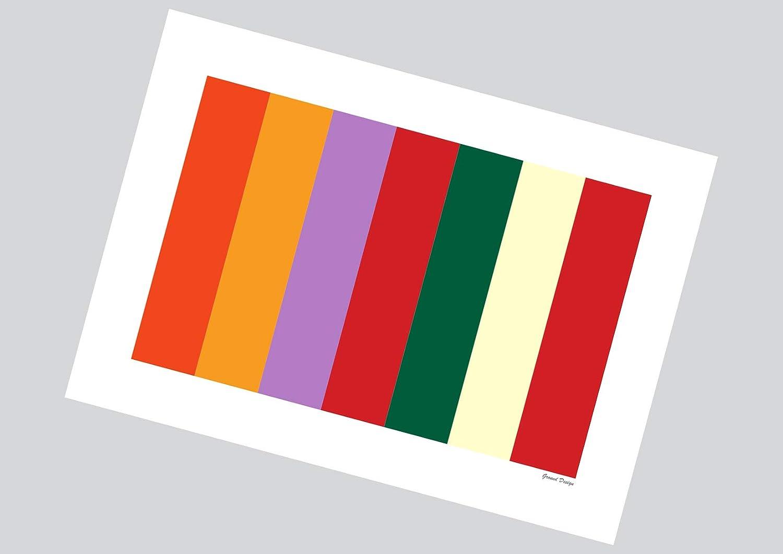 Liverpool FC Graphic Design Football Gift Print or Mug AnfieldPaisley Seats Ground Designs