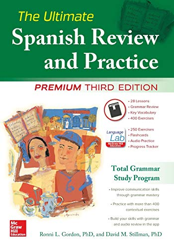 The Ultimate Spanish Review and Practice, 3rd Ed. (Into The Wild Vocabulary With Page Numbers)