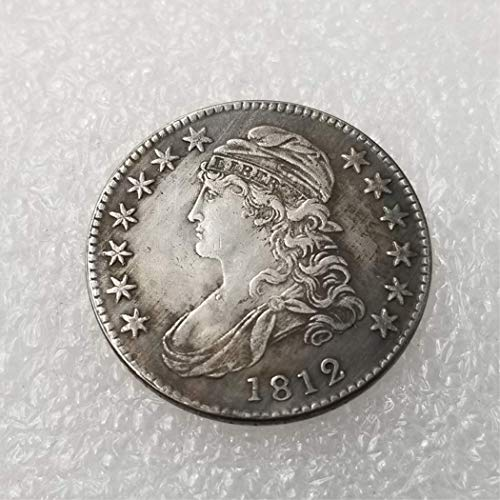 - MarshLing Best Morgan Silver Dollars-(1812-1836) USA 50 Cents Old Coin Collecting-USA Old Original Pre Morgan Dollar Perfect Quality 1812