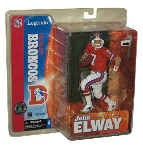 Broncos Elway John Denver (McFarlane Toys NFL Sports Picks Legends Series 1 Action Figure John Elway (Denver Broncos) Orange Jersey)