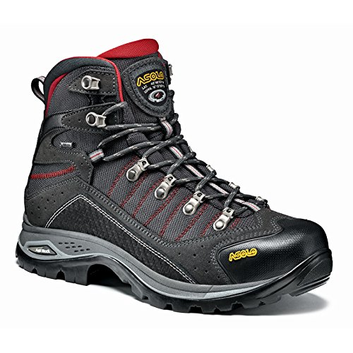 Self Cleaning Dual Fan - Asolo Men's Drifter Evo Gv Hiking Boots Cendre/Brown - 10.5