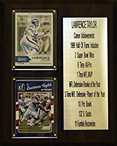 "8""X10"" Lawrence Taylor New York Giants Career Stat Plaque"