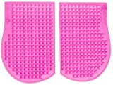 SweetCheeks Cellulite Massage Mats with Custom Carrying Case: Increases Local Circulation While You Sit - Reduce The Appearance Of Cellulite. Portable - No Cords or Batteries! Pink (Flexible) review