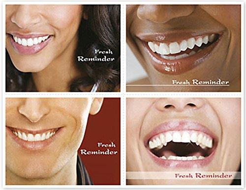 EGP Dental Reminder Card Fresh Reminder - 200 Count