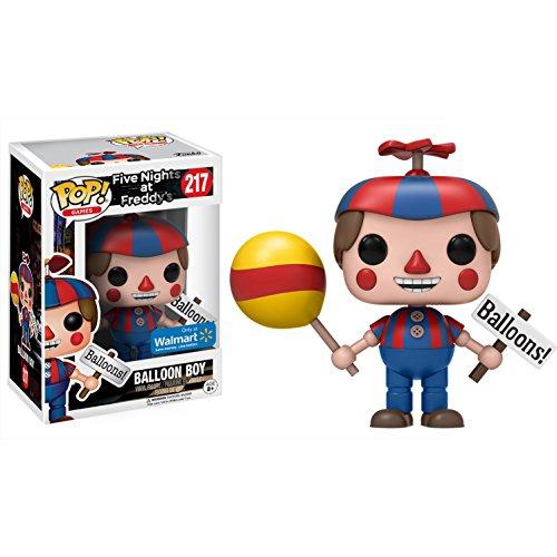 Funko Balloon Boy (Walmart Exclusive): Five Nights at Freddy's x POP! Games Vinyl Figure & 1 POP! Compatible PET Plastic Graphical Protector Bundle [#217 / 14110 – B]