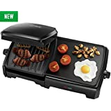 George Foreman 23450 Grill & Entertaining Griddle 10 PortioN