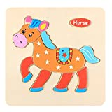 MChoice Wooden Puzzle Educational Developmental Baby Kids Training Toy (G)