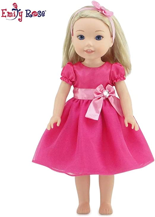 Fit Wellie Wishers Easter Dress Leggings American Girl 14 doll clothes outfit