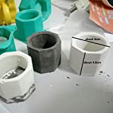 Howardee Silicone Cactus Flower Pot Mold Ceramic Clay Craft Casting Concrete Cup Mould Supplies