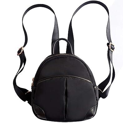 c2f0c66864b Amazon.com  Z-joyee Mini Casual Backpack Purse Nylon Shoulder Bags for Women    Girls  Shoes