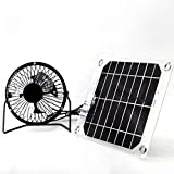Solar fan 5W 4 inch free green power ventilator for outdoor Home cooling