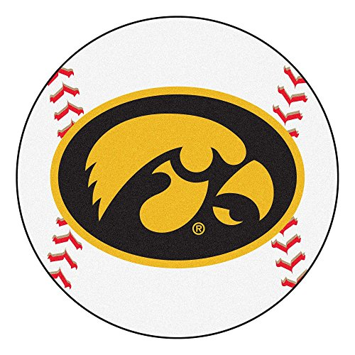 Fanmats University of Iowa Baseball Rug Mat 27