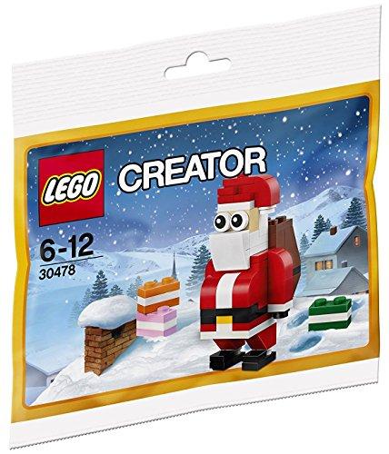 LEGO Creator 30478 Jolly Santa Christmas Polybagged Juego de 74 piezas