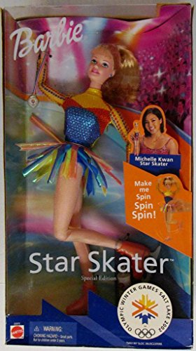 Olympic Winter Games Salt Lake 2002 Star Skater Barbie - Special - Bend North Mall