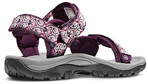 ATIKA AT-W111-MGT_Women 7 B(F) Women's Maya Trail Outdoor Water Shoes Sport Sandals W111 by ATIKA (Image #3)
