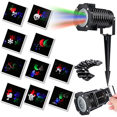 Halloween Projection Lights Led Projector Light...
