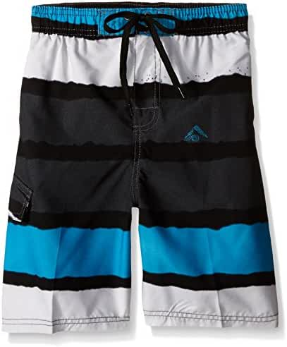 Kanu Surf Boys' Voodoo Stripe Swim Trunk