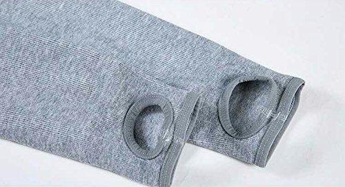 GBHNJ Leggings Femmes Mince Taille Haute Plus Épais Étape Sur Le Pied Peut Se Porter À L'Extérieur Pantalon Coton Gris Transparent F(Poids Approprié 80-130 Catty)