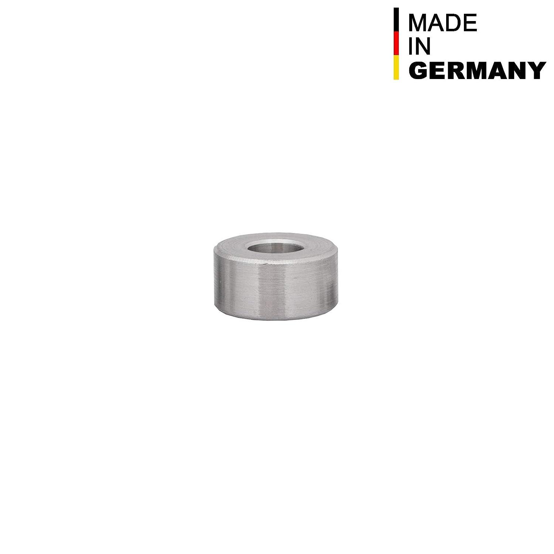 FASTON Lot de 4 manchons d/écartement en aluminium M8 /Ø int/érieur 8,5 mm