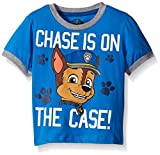 Paw Patrol  Toddler Boys' Group T-Shirt, Blue Chase, 5T