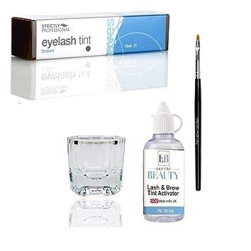 1138e258e1c Amazon Com Strictly Professional Eyelash Eyebrow Tint Tinting Kit
