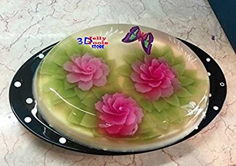 Amazon.com: 7 Bottle of 3d Gelatin Art Tools - 3d Jelly Tools - Not Include Needle: Kitchen & Dining