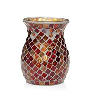 Yankee Candle Red and Gold Mosaic Tarts Wax Melts Warmer or Burner