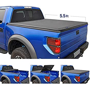 Amazon Com Tyger Auto T3 Tri Fold Truck Bed Tonneau Cover