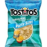 Tostitos Original Restaurant Style Tortilla Chips, Party Size, 18 oz Bag - 2 pack