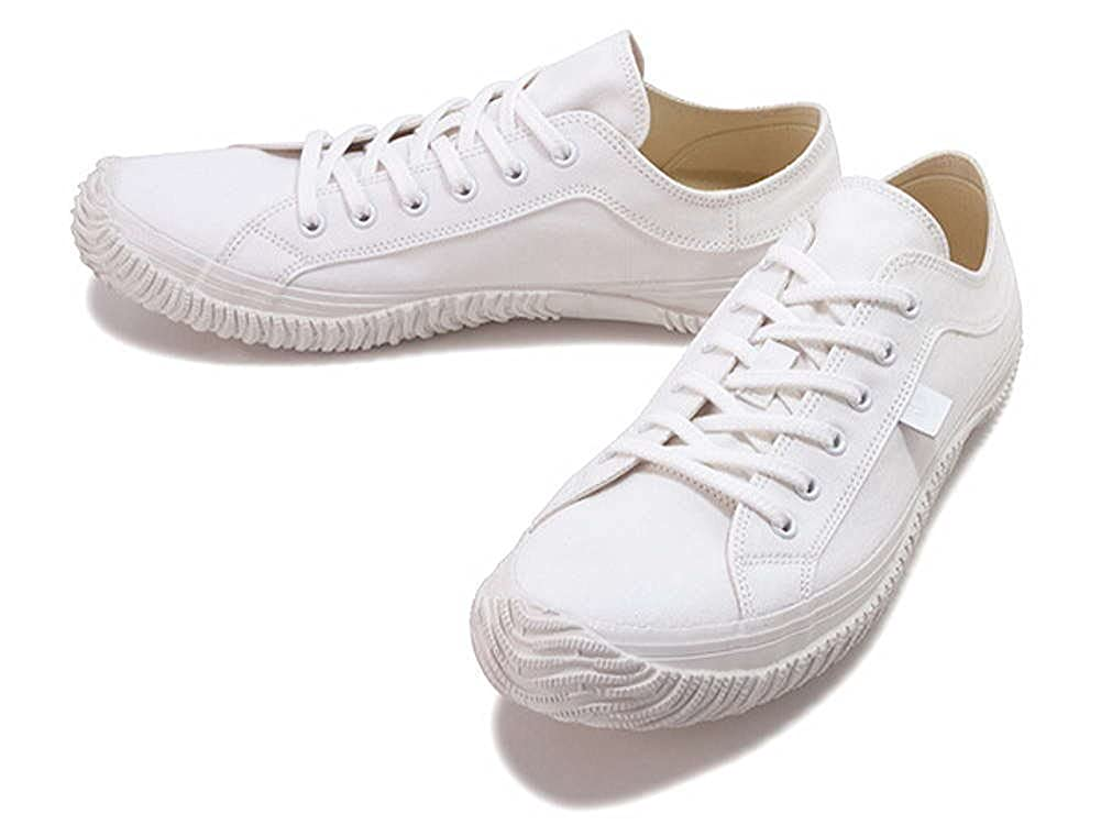 スピングルムーブ キャンバス ローカット ホワイト×ホワイト(SPINGLE MOVE SPM-141 White/White)(スピングルムーヴ) B01GA3DX5E   L(26.5)