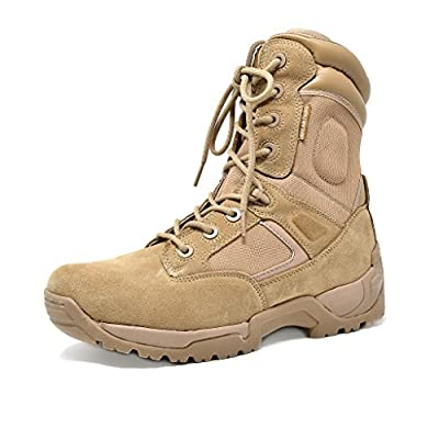 """DREAM PAIRS Men's 6""""-8"""" inches Military Tactical Work Dersert Boots"""